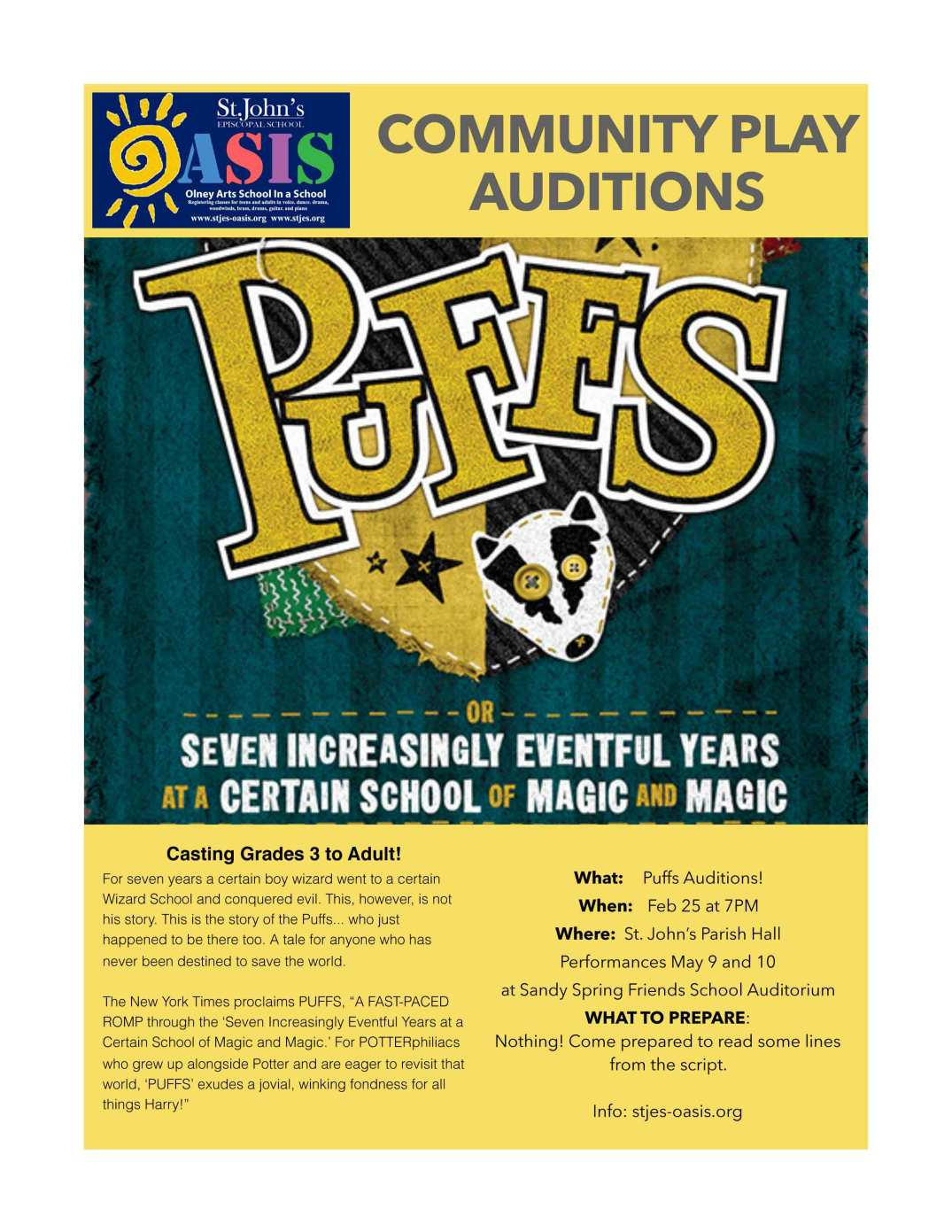 Community-Play-Auditions-PUFFS
